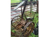 Albion grass/hay cutter with new blades