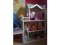 Doll House for Barbie sized dolls