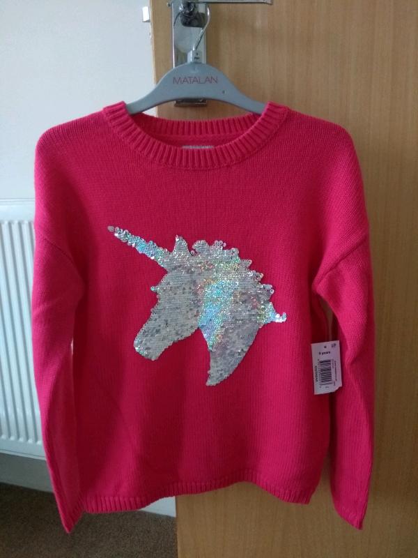 95002c59084e NEW Matalan unicorn jumper age 9 | in Bournemouth, Dorset | Gumtree