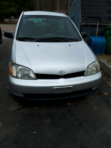 Amazing on gas, cheap on insurance!!!Toyota Echo 2002