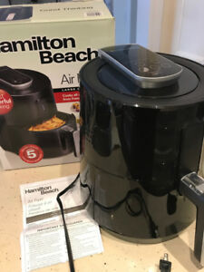 Hamilton Beach Air Fryer BRAND NEW, NEVER USED, GREAT GIFT!