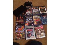 Slim Sony ps2 games bundle console