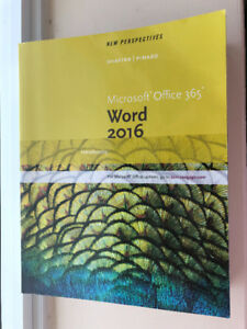 Microsoft Office 365 WORD 2016 Introductory