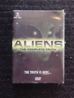 ALIENS THE COMPLETE TRUTH 5 DVD BOX SET - BRAND NEW - SEALED