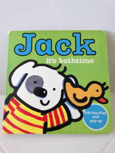 Jack: It's Bathtime by Elgar, Rebecca (Jack: Board Book)