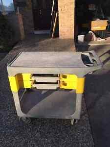Rubbermaid Utility / A.V. / Tool / Trades Cart Oakville / Halton Region Toronto (GTA) image 3