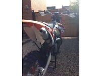 KTM XC 250 ENDURO MOTOCROSS NOT EXC SX