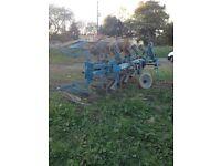 Lemken plough 4 furrow