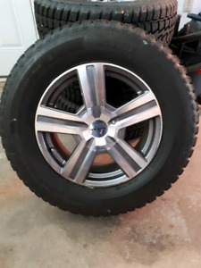 245/70R17 studded tires and wheels