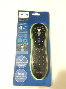 NEW Philips 4-in-1 universal remote control