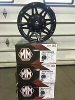Jeep Wrangler/Dodge Ram Mayhem Riot Alloy Rims