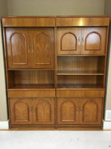 China cabinet solid oak
