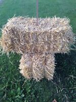Clean wheat straw small bales