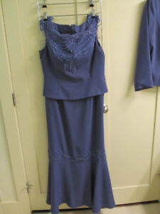 Long Gown with jacket -Only used once