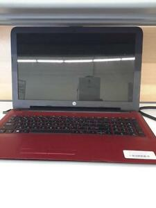"*** USED *** HPC 15.6"" HP FLYER RED   S/N:CND6150TQ5   #STORE918"