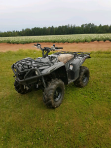 2016 Yamaha grizzly 700 SE