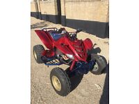2005 Yamaha raptor 660 quad bike / road legal 12month mot