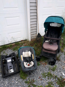 Evenflo carseat base and stroller kit