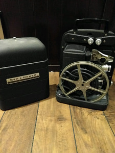 Bell and Howell antique auto load 8mm projector