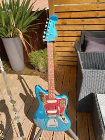 Fender Jaguar Vintera 60s Ocean Turquoise Electric Guitar Staytrem