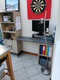 Custom made home desk