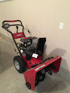 "Almost new Snowblower 27"" by 1 st. owner"