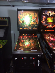 escape from the lost world pinball