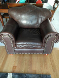 Leather Lazy Chair only $40