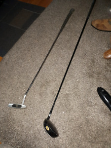 Golf #1Driver and a rythum 1 putter