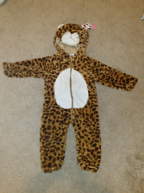 Toddler lepoard Animal Romper Costume Halloween Fancy Dress 1-2 years