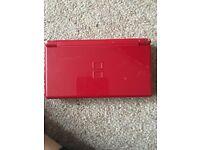 Nintendo ds in red