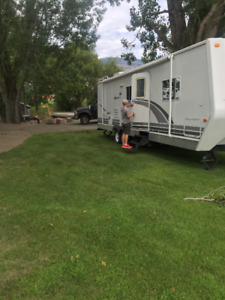 Travel Trailer Accommodations Available in Osoyoos, BC