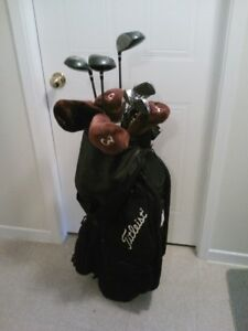 Just in time, complete golfing set