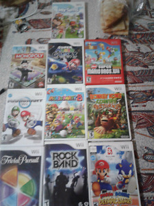 10 wii games for sale
