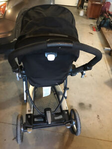 Peg Perego Stroller with Bassinet Attachment