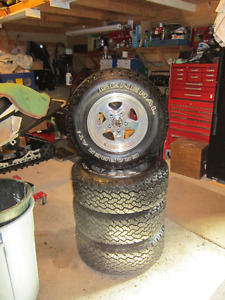 General Tire Grabber A/T2 tires on rims