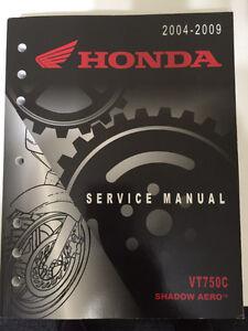 HONDA SERVICE MANUAL  2004-2009