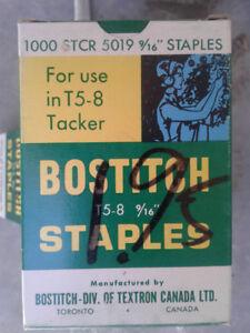 Bostitch T5-8  9/16 Staples