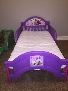 Minnie Mouse Bed with Mattress