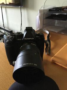 Olympus OMD EM1 + M.Zuiko ED Black 75 mm F1.8 + Battery grip HLD