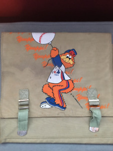 "Rare Vintage 1981 Montreal Expos ""Youppi"" Childrens Backpack"