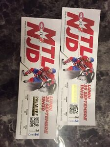 Billets Hockey Tickets Montreal vs Devils