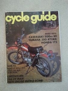 September 1970 Cycle Guide