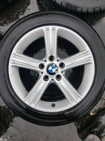 Bmw 2015 alloys wheels rims with tyres E46 E90 E36 F20 z4 F30 E36 E8