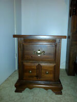 Two dressers and night stand
