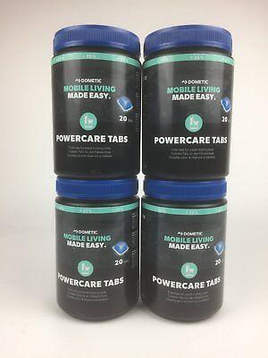 Waeco Dometic Powercare Tabs +25% Más 4x 20=80 Piezas Thetford Wc Aditivo