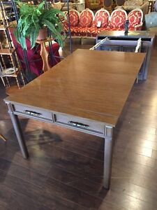 Rare BUFFET STRETCHED TO LONG TABLE