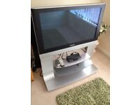 37 inch Panasonic viera tv with built in matching stand = CAN DELIVER