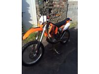 Ktm 450 exc mint condition new mot