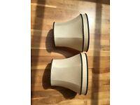 Lampshades (pair)
